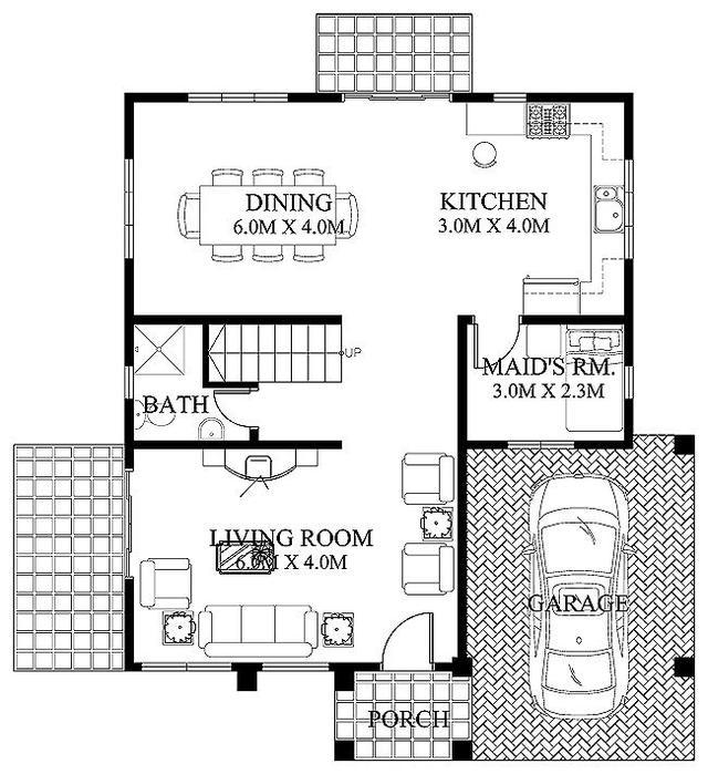 9x10米实用自建房户型分享 含平面图