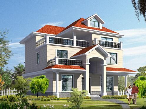 农村自建框架结构别墅