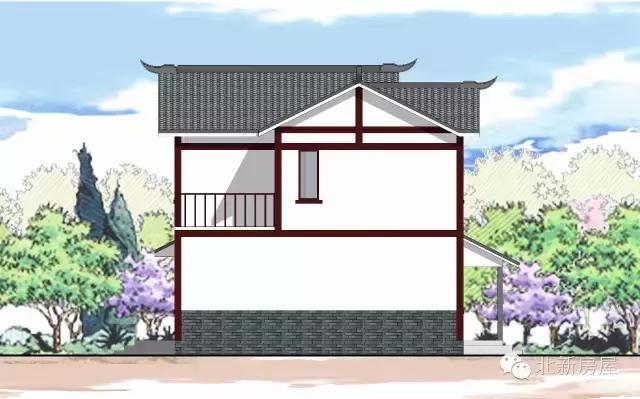 10x8.5米自建钢结构别墅分享 全图 装修 实拍