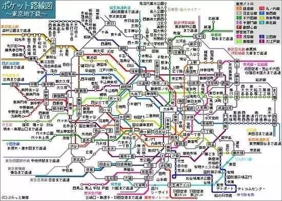 面积是北京1 8,人口是北京两倍,但东京为什么不堵车