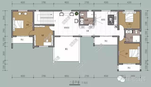 25x11米农村徽派别墅,经典 接地气 全图 预算
