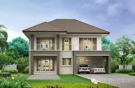 10套造价2 30万的乡村别墅,造型都是新款式
