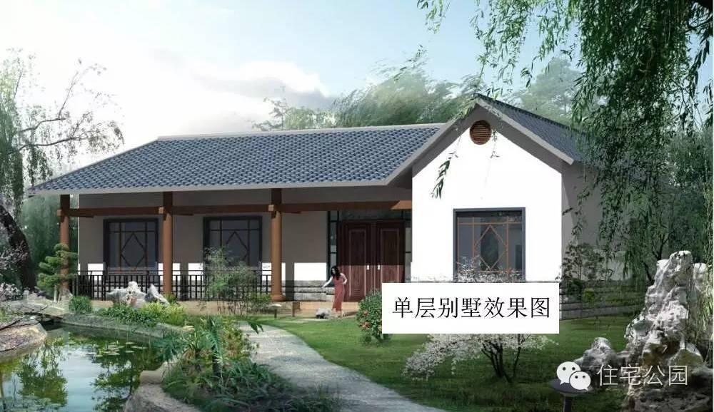 l型两层农村别墅图片