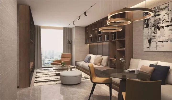室内设计则由lwm李玮珉倾力设计,现代装修风格呈现空间的精致与实用