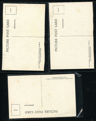 新浪收藏-早期儿童手绘明信片新三件