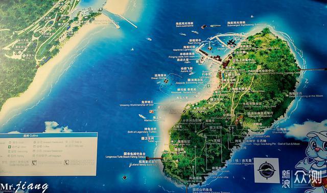 海岛平面图手绘