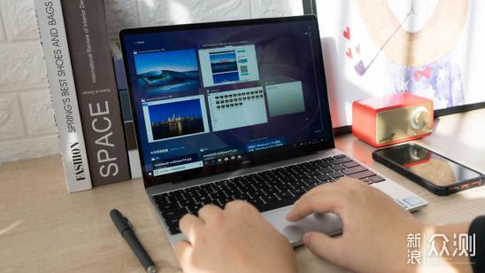 有颜值又有性能—华为MateBook 13入手体验_新浪众测