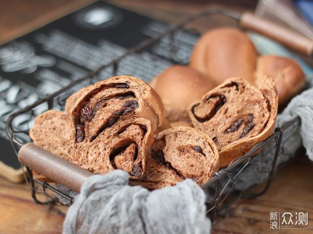 蔓越莓巧克力面包,香甜松软,开学季别错过_新浪众测