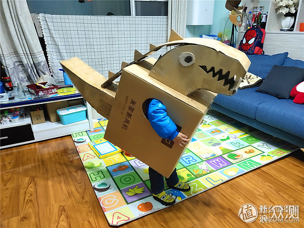 寓教于乐:简易手工,让孩子做自己的恐龙王_新浪众测