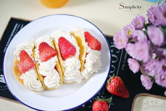 这网红草莓抱抱卷,这口感,这颜值值了_新浪众测
