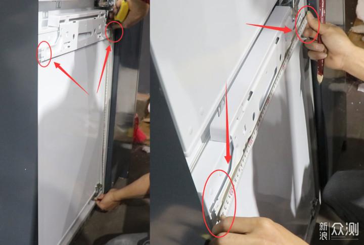 daogrs K3Pro 嵌入式冰箱的选购安装之路_新浪众测