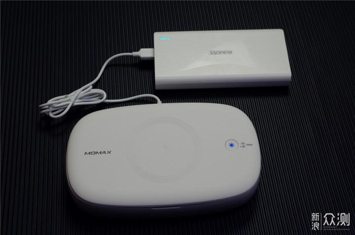奇葩MOMAX魔盒:无线充电消毒2合1还能加香_新浪众测