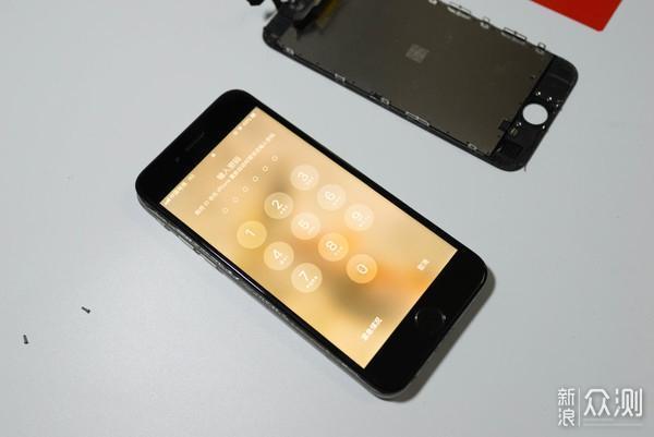 iphone6s屏幕更换过程(指纹、背板、摄像头)_新浪众测