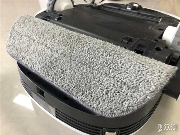 哇力扫拖机器人N1扫拖一体,拖布还能自己洗 _新浪众测