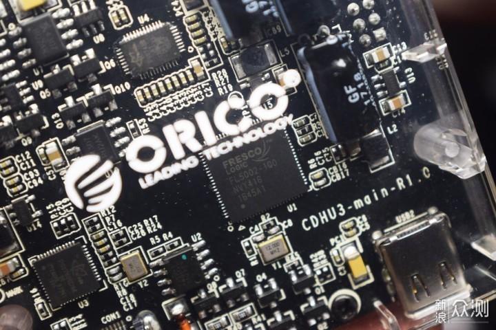 又是透视装?可视频输出的ORICO Type-C扩展坞 _新浪众测
