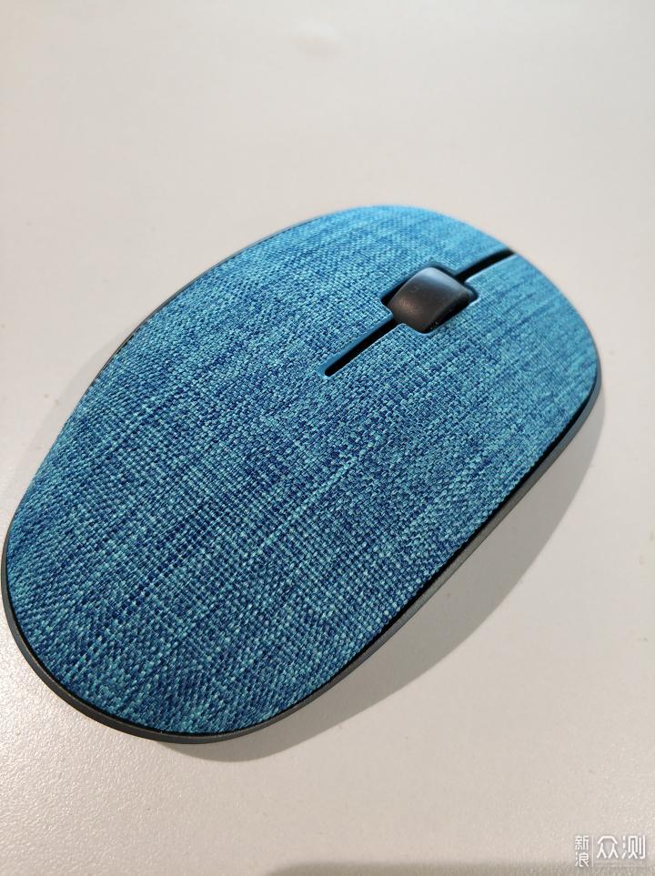 极简设计清爽布艺,雷柏M200PLUS无线鼠标简评_新浪众测