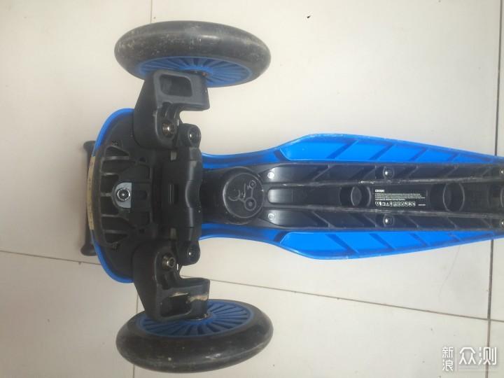 酷骑V3滑板车,家里小宝的新搭档……_新浪众测