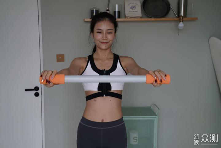 一款能够锻炼全身的拉力带_新浪众测