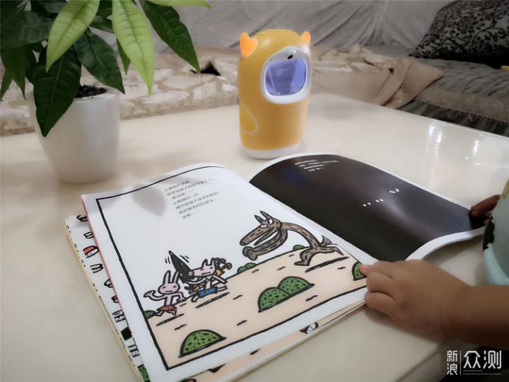 绘本阅读的牛听听读书牛,孩子熏教成长好伴侣_新浪众测