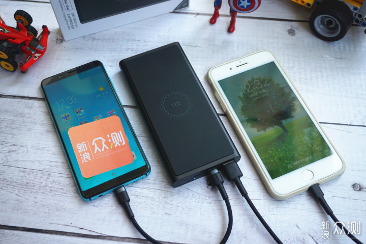 紫米无线充移动电源 满足全家充电需求 _新浪众测