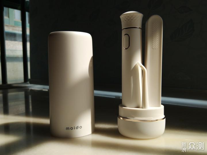 清洁口腔,远离口气 - moido便携无水箱冲牙器_新浪众测