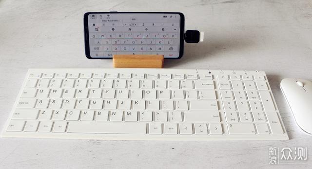 超薄携带、巴掌大-航世无线键鼠HW193评测_新浪众测