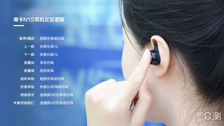 用心感知声音的美好 南卡N1S真无线蓝牙耳机_新浪众测