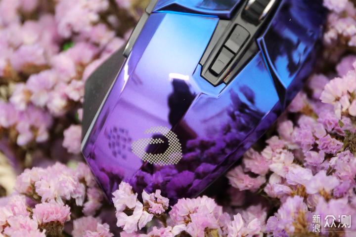 越活越年轻,经典牧马人鼠标的最新配色激光紫_新浪众测