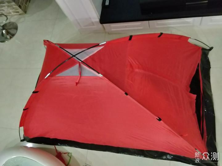 #国庆投稿月#准备露营前先在家中体验下帐篷_新浪众测