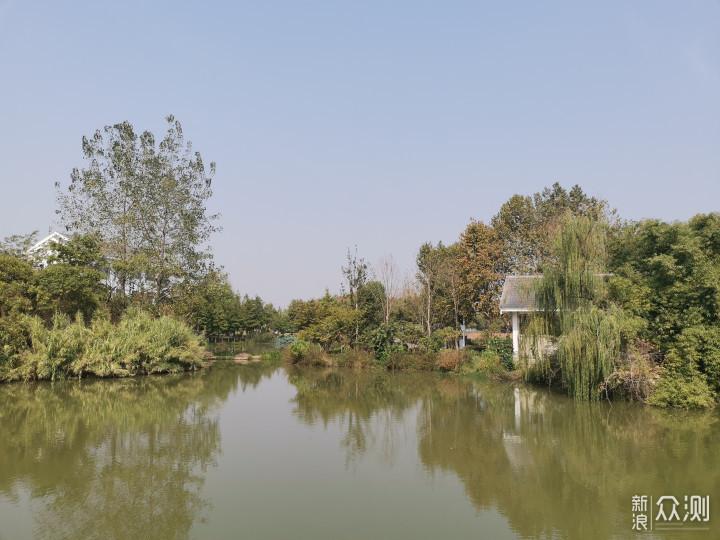放假休闲好去处——我散步到了金银湖湿地公园_新浪众测