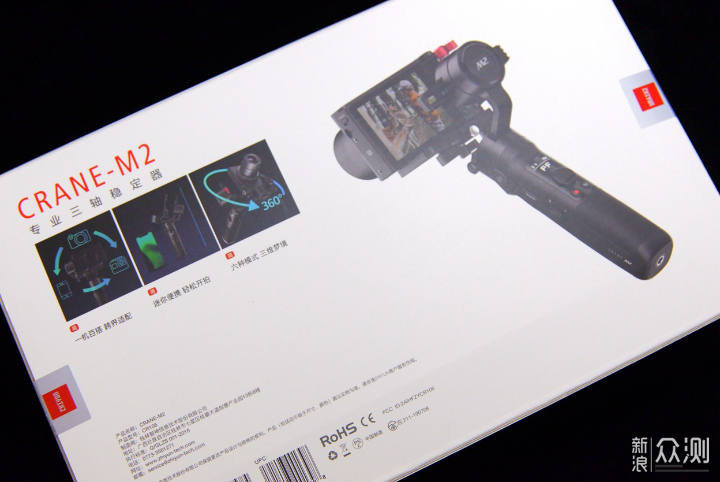 稳定器也玩跨界:智云云鹤M2手持稳定器体验_新浪众测