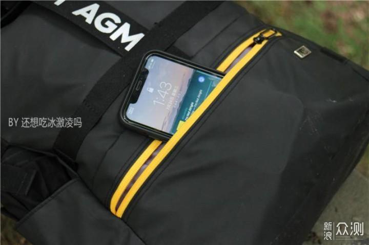AGM黑盾双肩背包轻体验_新浪众测