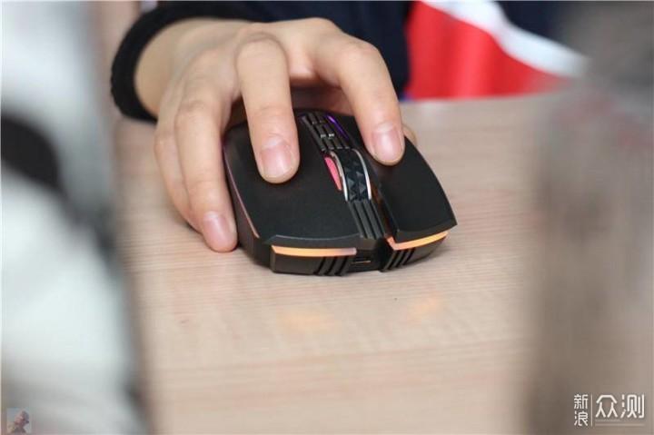 大牌也有实惠好货,无线游戏鼠标我选它!_新浪众测