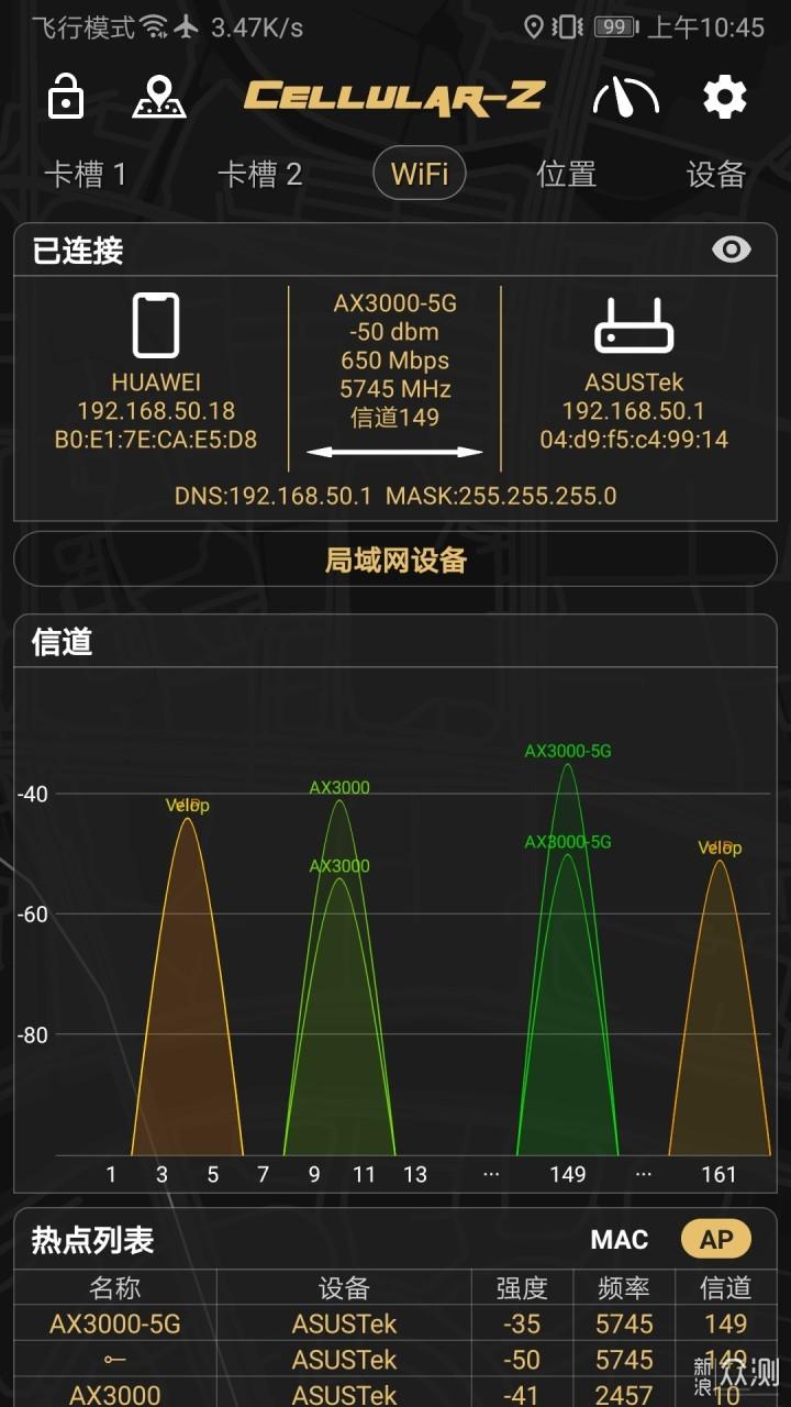 AiMesh加持,华硕TUF-AX3000电竞特工路由体验_新浪众测