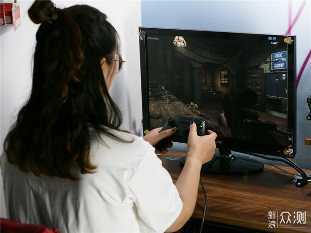 「超逸酷玩」北通斯巴达2游戏手柄游戏全兼容_新浪众测
