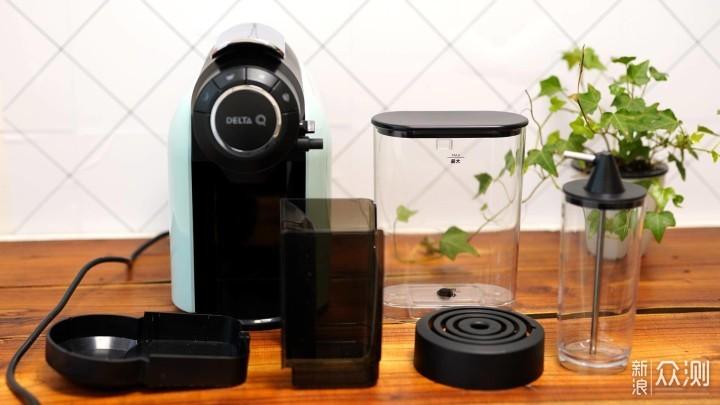DELTA Q奶泡咖啡机,你下午茶正确的打开方式_新浪众测