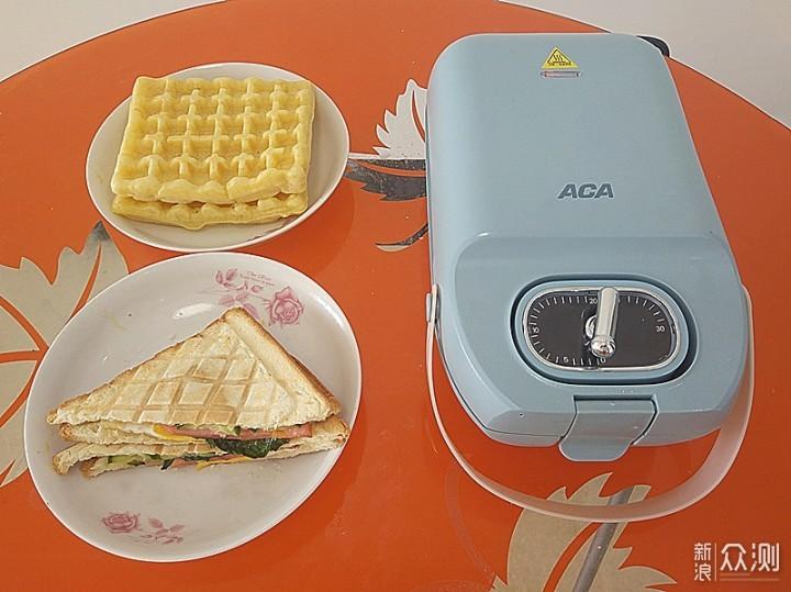 简单省事省时的ACA三明治早餐轻食机体验_新浪众测
