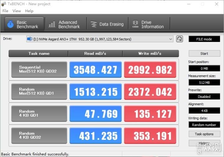 阿斯加特AN3+ NVMe固态硬盘体验_新浪众测