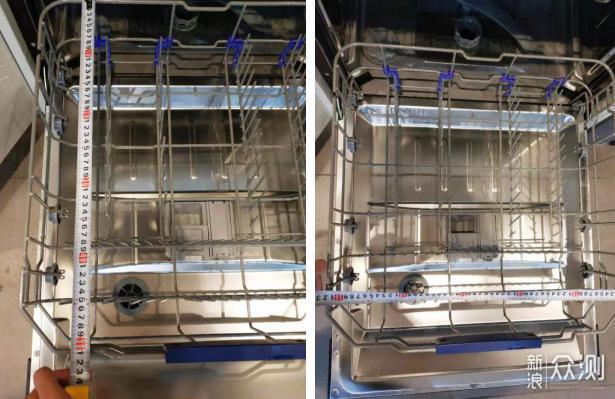 8套和14套嵌入式洗碗机,哪种能满足你的需求_新浪众测