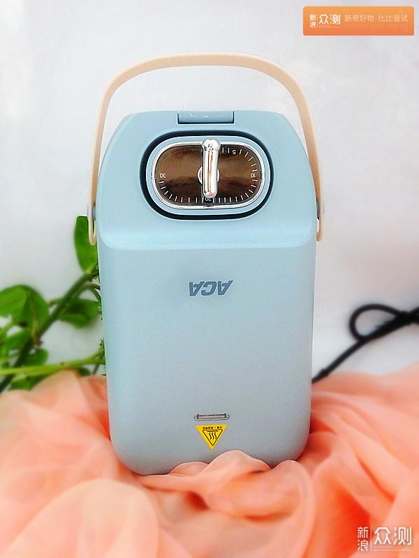 ACA早餐机,一个可以拎的轻食盒子_新浪众测