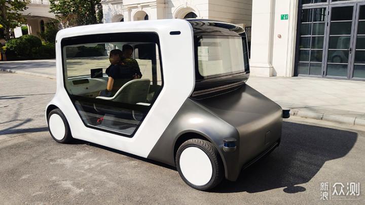 智能社区出行新方式,HACHI AUTO试乘体验_新浪众测