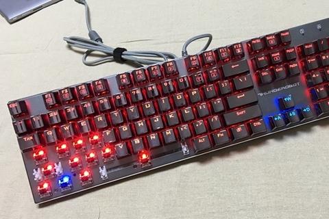 钢铁之躯能否续写辉煌?雷神K71全金属机械键盘