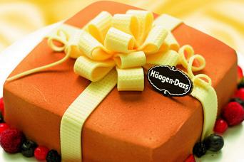 哈根达斯天猫蛋糕