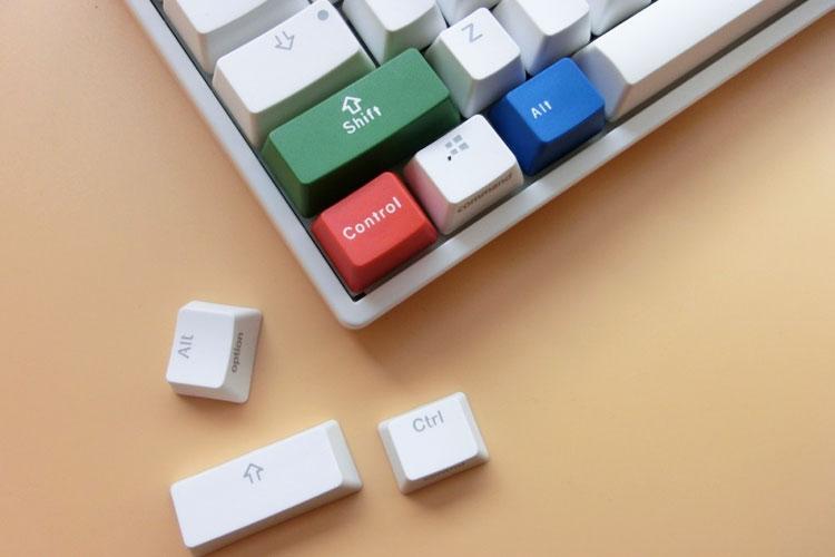 ikbc机械键盘组合,留下高效的时光印记