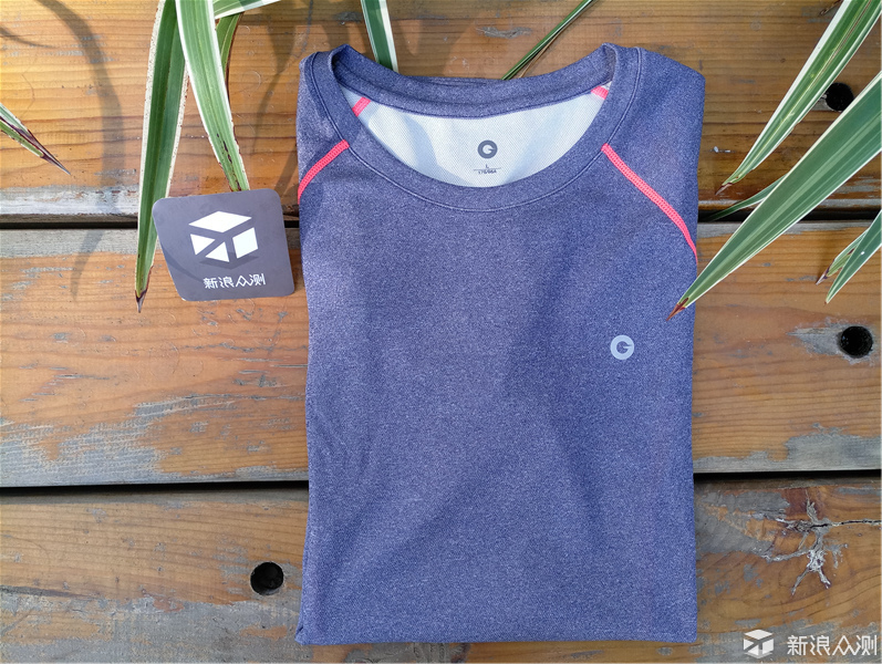 运动与时尚兼备|AMAZFIT运动速干T恤 评测_新浪众测
