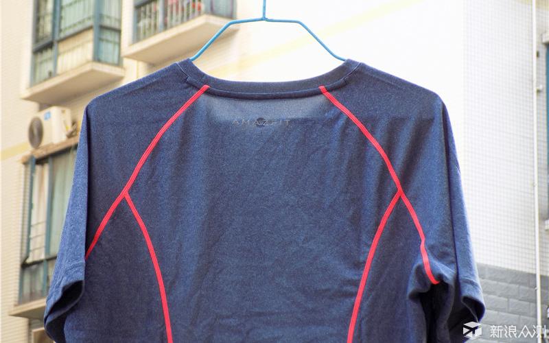 穿着好清凉,运动更舒适—AMAZFIT运动T恤体验_新浪众测