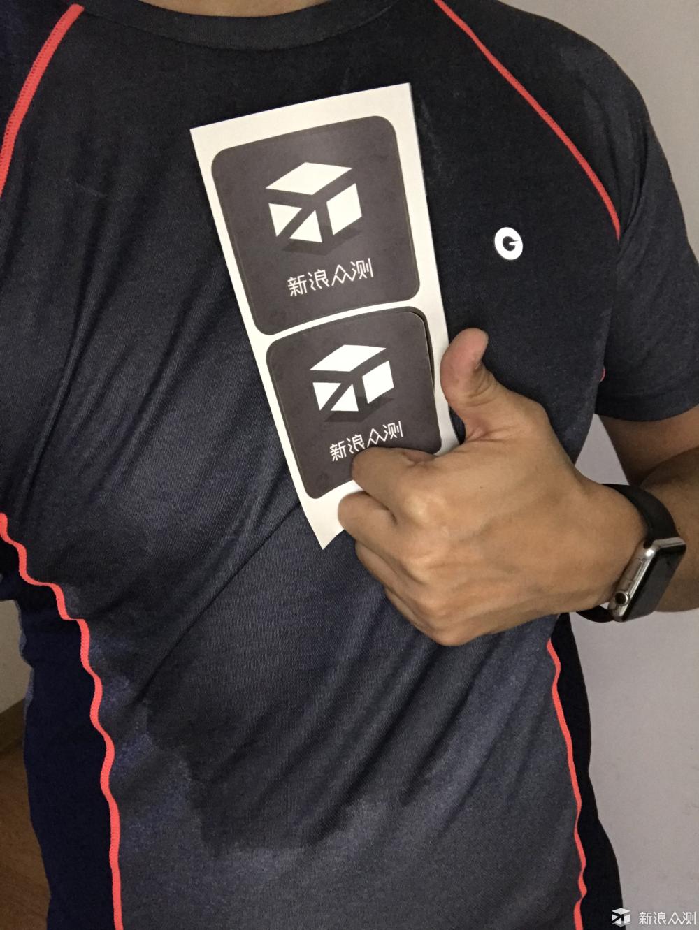 为AMAZFIT跑步T恤打CALL_新浪众测