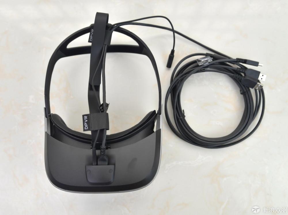更进一步的身临其境,大朋VR头盔E3双基站版_新浪众测