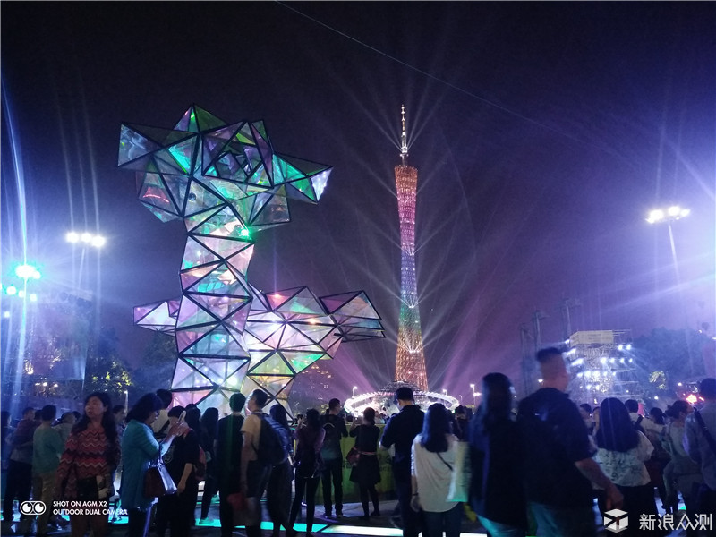 带着手机去看2017广州灯光节_新浪众测