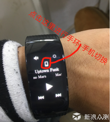 测评|三星Gear fit2 Pro手环竟能兼容iPhone_新浪众测